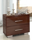Italian Modern Night Stand Antonelli 33170AT
