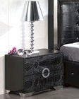 Modern Night Stand Valencia in Black Made in Spain 33B253