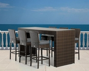Modern Outdoor Bar Table Set 44P464-SET