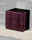 Modern Pouffe in Purple Finish Made in Italy 44B5122P