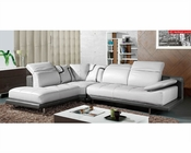 Modern Sectional Sofa Set in Grey Finish 33LS31