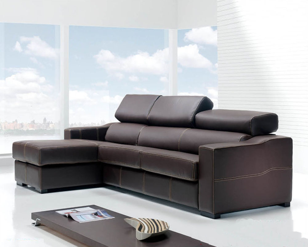 Contemporary Modern Sofas: Modern Sectional Sofa Set Made In Spain 33LS161