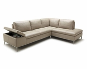 Modern Sectional Sofa w/ Chaise 44L6008