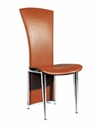 Modern Side Chair in Brown Finish European Design 33D244 (Set of 4)