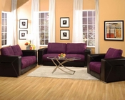Modern Sofa Set Brayden Purple by Acme Furniture AC51680SET