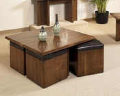Modern Square Cocktail Table Opus by Somerton SO-623-06