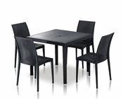 Modern Square Dining Table Set 44P114-SET