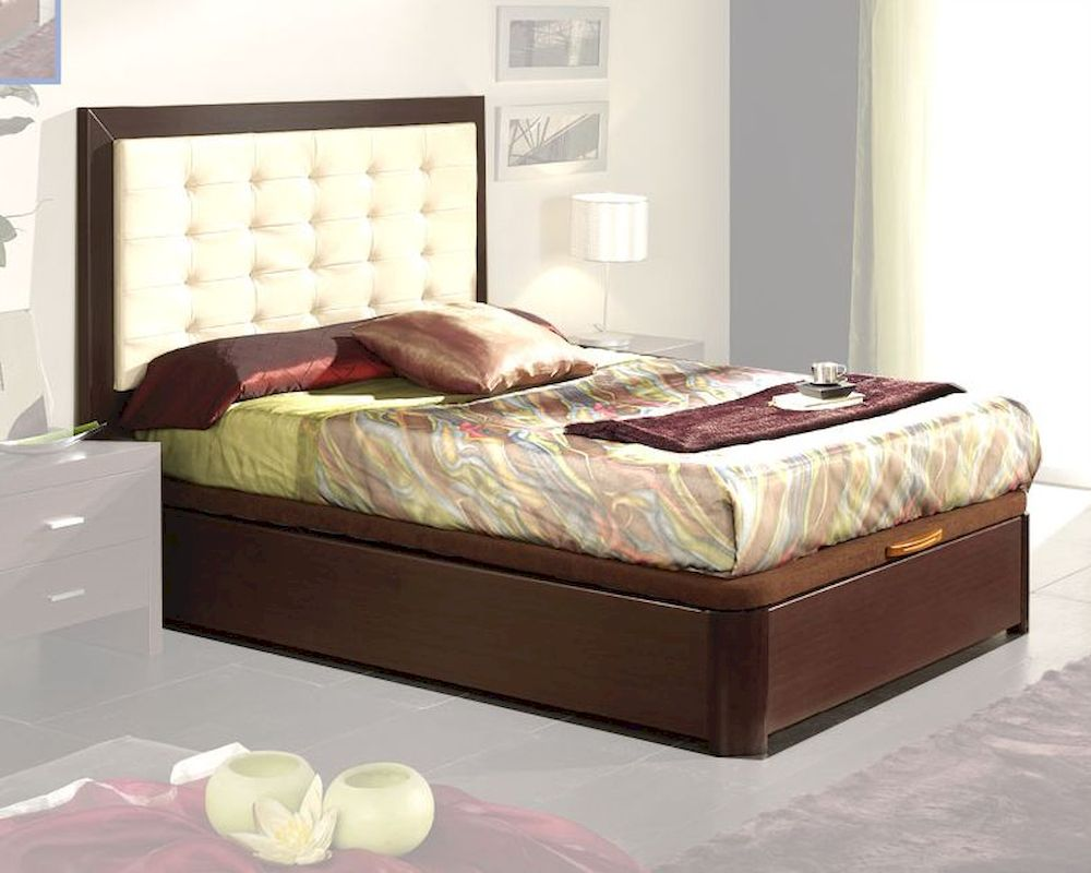 style bed in wenge finish made in spain 33b12