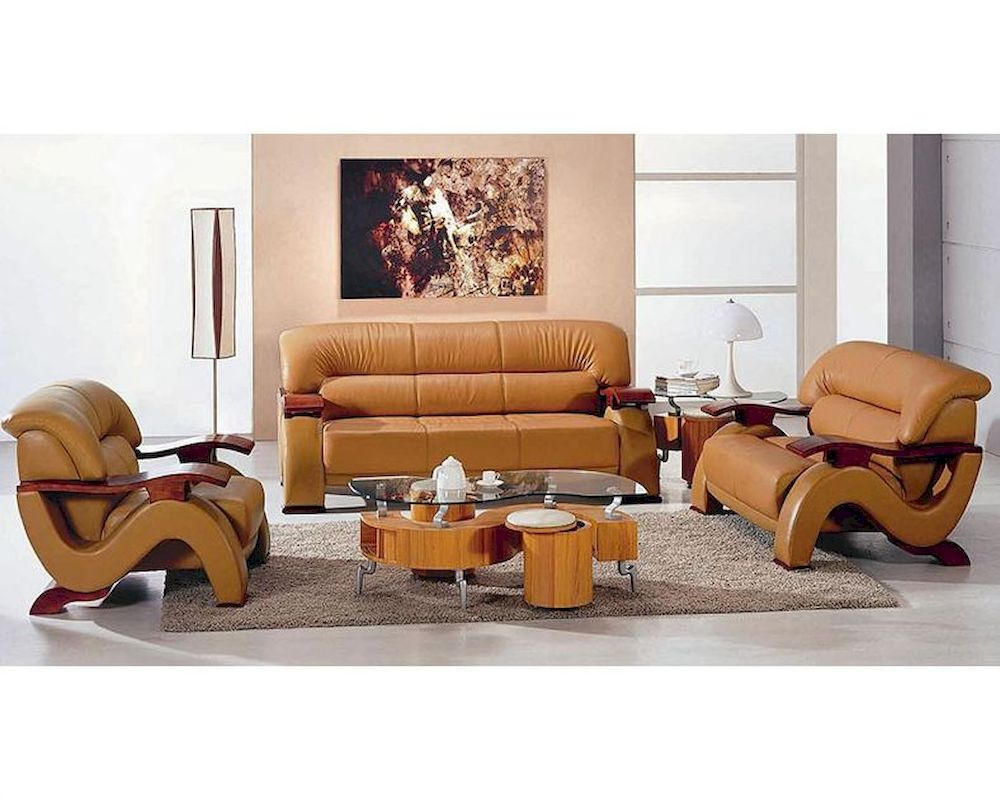 Modern style bonded leather sofa set 44l6085 for New type of sofa sets