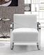 Modern Style Leather Lounge Chair 44LG560