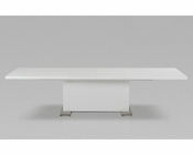 "Modern Style ""T""-Shape White Dining Table 44D567XT-2"
