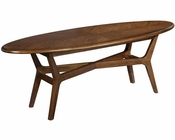 Modern Surfboard Coffee Table Mid Century by Hekman HE-951304MW