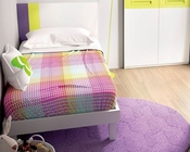 Modern Twin Bed Made in Spain 33140H512