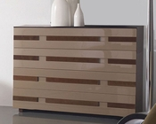 Modern Two Tone 4 Drawer Dresser Made in Spain 33B215