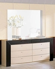 Modern Two Tone Double Dresser Made in Italy 44B2215