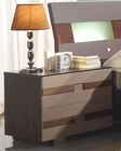 Modern Two Tone Night Stand Made in Spain 33B213