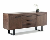 Modern Walnut Buffet 44D8922-B
