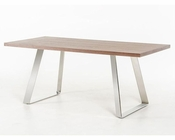 Modern Walnut Dining Table 44D6097-TB