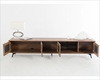 Modern Walnut Finish TV Stand 44ENT1403F