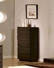 Modern Wenge Finish Chest Made in Italy 44B1719