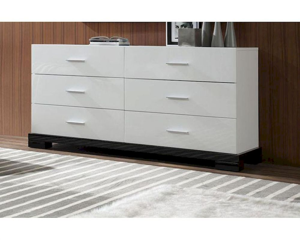 Brand new Modern White 6-Drawer Dresser 44B204DM MX41