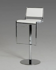 Modern White Bar Stool 44BR5033B-WHT