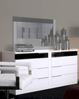 Modern White/ Black Finish Dresser Made in Italy 44B3515