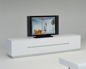 Modern White Crocodile TV Stand 44D588-230