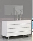 Modern White Dresser Made in Italy 44B4615W