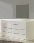 Modern White Finish Dresser Made in Italy 44B115W