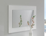 Modern White Mirror Made in Spain Jennifer 33180JN