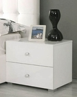 Modern White Night Stand Made in Italy 44B4613W