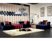 Modular Contemporary Fabric Sectional Sofa 44L6083