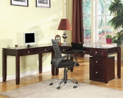 Modular Home Office Boston by Parker House PH-BOS-MSET3