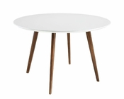 Modway Canvas Dining Table in White MY-EEI-1064