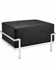 Modway Charles Grande Ottoman in Black MY-EEI-251