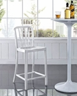 Modway Deck Counter Stool in Silver MY-EEI-1191