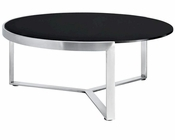 Modway Disk Coffee Table in Black MY-EEI-256