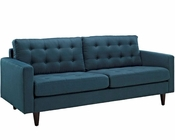 Modway Empress Sofa in Azure MY-EEI-1011