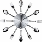 Modway Fork and Spoon Wall Clock MY-EEI-760