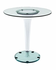 Modway Gossamer Dining Table in Clear MY-EEI-1067
