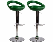 Modway Halfmoon Bar Stools MY-EEI-918 (Set of 2)