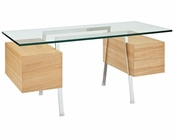Modway Hypercube Desk in Natural MY-EEI-292