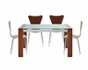 Modway Lakeshore Dining Set with Ernie Chairs MY-EEI-680-SET2