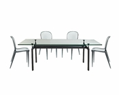 Modway LC6 Dining Set with Scape Chairs MY-EEI-521-SET2
