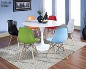 Modway Lippa Dining Set with Pyramid Chairs MY-EEI-857