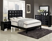 Modway Lola Bedroom Set in Black MY-MOD-5018SET