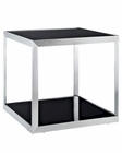 Modway Open Box Side Table in Black MY-EEI-261