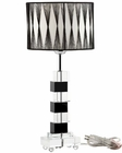 Modway Percussion Table Lamp in Black and White MY-EEI-228