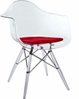 Modway Pyramid Dining Armchair in Red MY-EEI-221